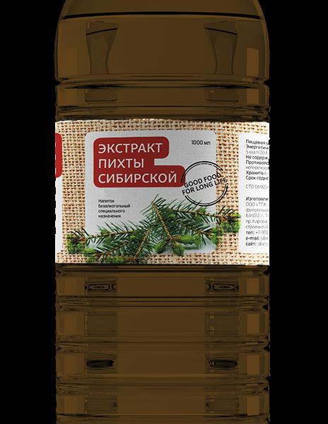 экстракт пихты сибирской 1000 мл